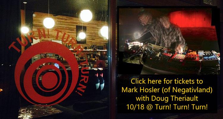 Mark Hosler at Turn! Turn! Turn!